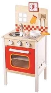 GOKI Kuchnia drewniana do zabawy dla dzieci 2480  sklep z zabawkami ene due eu -> Drewniana Kuchnia Z Akcesoriami Howa