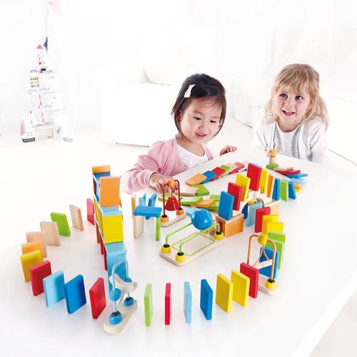 hape kolorowe domino do zabawy dla dzieci 1359 sklep z zabawkami ene. Black Bedroom Furniture Sets. Home Design Ideas