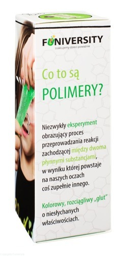 FUN goo - eksperyment co to są polimery?